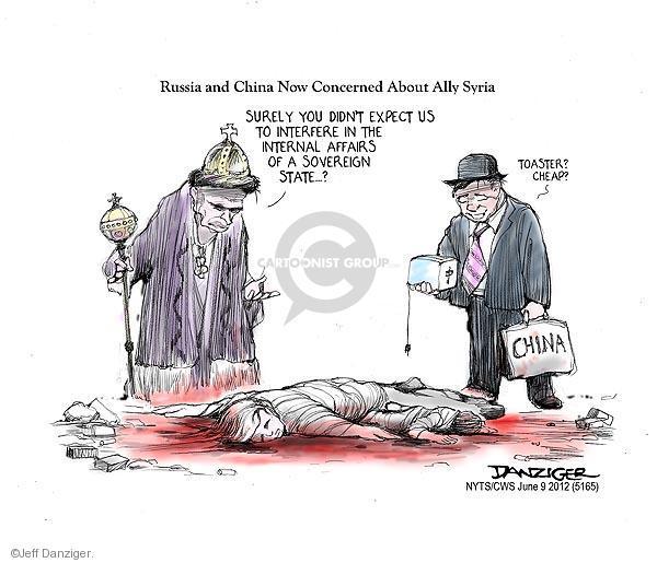 Jeff Danziger  Jeff Danziger's Editorial Cartoons 2012-06-09 civilian