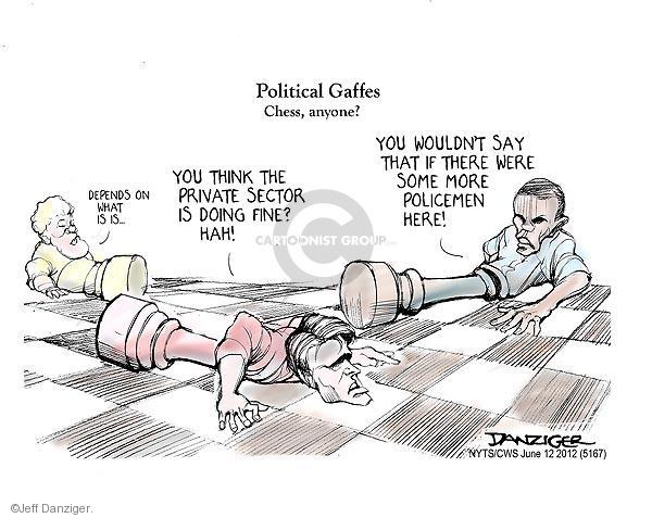 Cartoonist Jeff Danziger  Jeff Danziger's Editorial Cartoons 2012-06-12 corporate