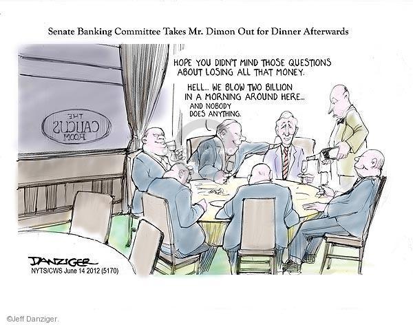 Jeff Danziger  Jeff Danziger's Editorial Cartoons 2012-06-14 caucus