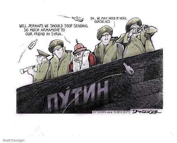 Jeff Danziger  Jeff Danziger's Editorial Cartoons 2012-06-15 May