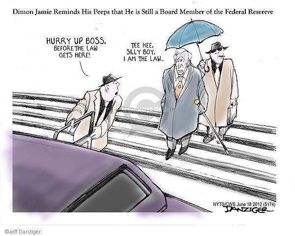 Cartoonist Jeff Danziger  Jeff Danziger's Editorial Cartoons 2012-06-18 legal