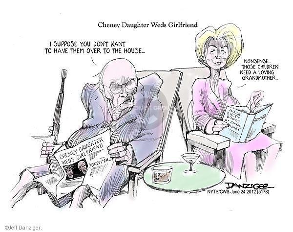 Cartoonist Jeff Danziger  Jeff Danziger's Editorial Cartoons 2012-06-24 nonsense