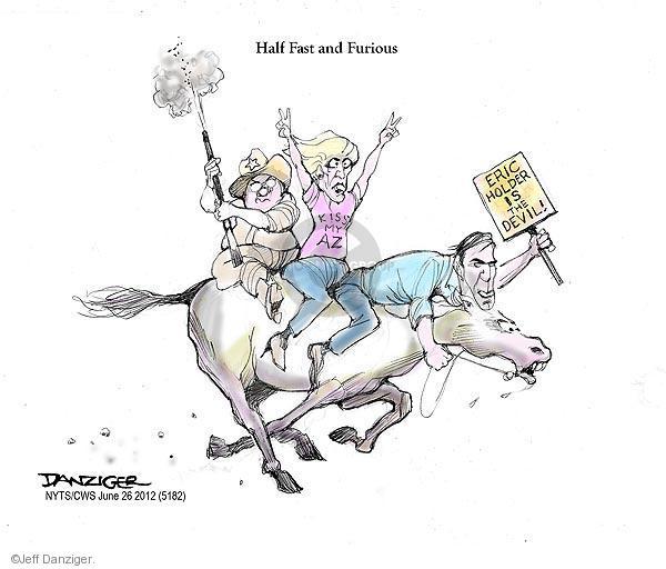 Jeff Danziger  Jeff Danziger's Editorial Cartoons 2012-06-26 Arizona immigration