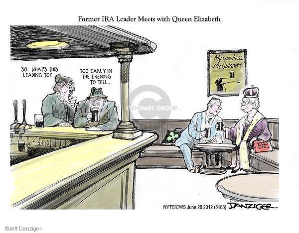 Cartoonist Jeff Danziger  Jeff Danziger's Editorial Cartoons 2012-06-28 Ireland