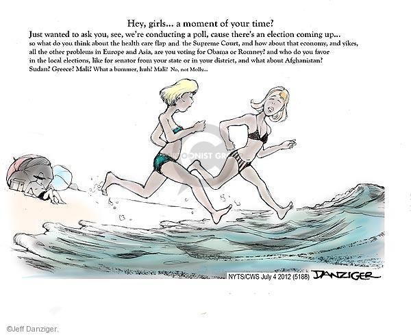 Cartoonist Jeff Danziger  Jeff Danziger's Editorial Cartoons 2012-07-04 do