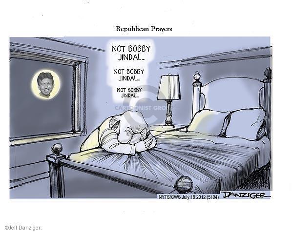 Cartoonist Jeff Danziger  Jeff Danziger's Editorial Cartoons 2012-07-18 republican politician