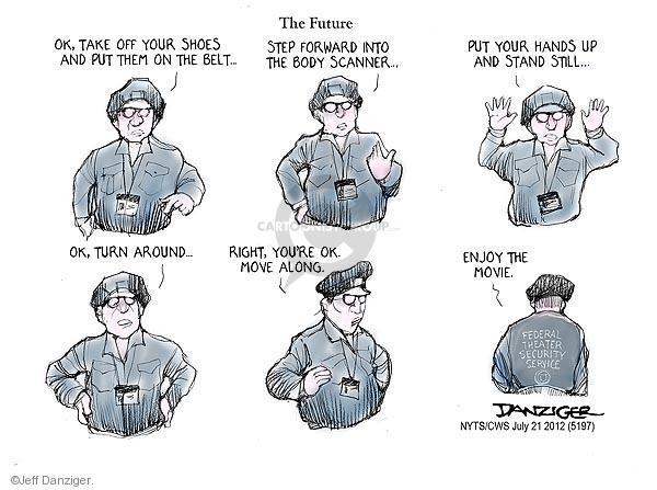 Jeff Danziger  Jeff Danziger's Editorial Cartoons 2012-07-21 theater shooting
