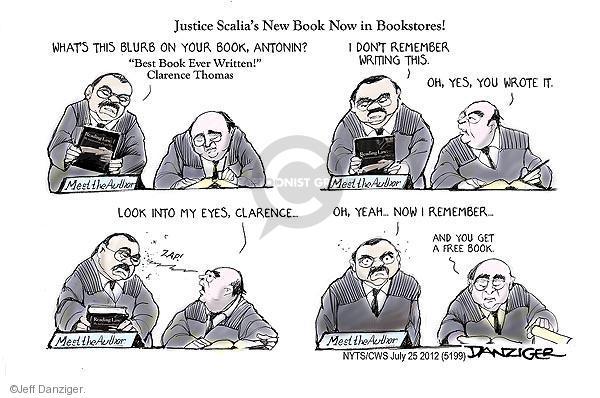 Cartoonist Jeff Danziger  Jeff Danziger's Editorial Cartoons 2012-07-25 legal system