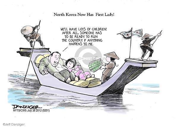 Cartoonist Jeff Danziger  Jeff Danziger's Editorial Cartoons 2012-07-26 leadership