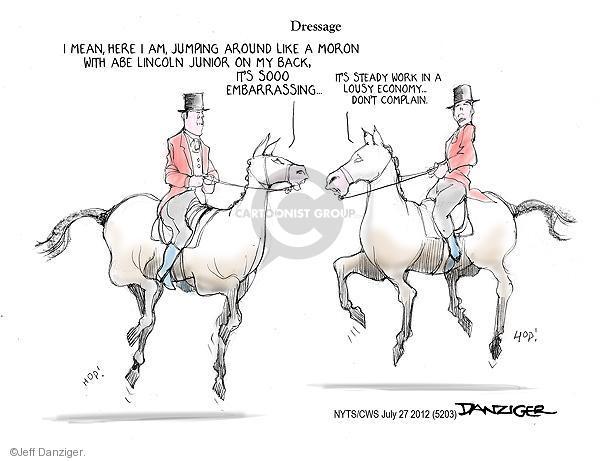 Cartoonist Jeff Danziger  Jeff Danziger's Editorial Cartoons 2012-07-27 republican