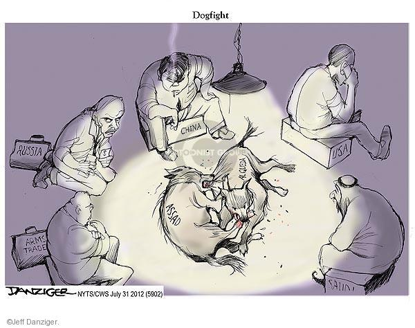 Jeff Danziger  Jeff Danziger's Editorial Cartoons 2012-07-31 United States