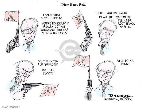 Cartoonist Jeff Danziger  Jeff Danziger's Editorial Cartoons 2012-08-06 truth