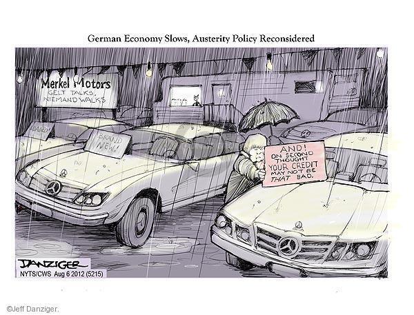 Jeff Danziger  Jeff Danziger's Editorial Cartoons 2012-08-06 May