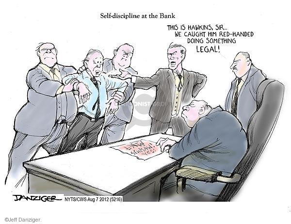 Cartoonist Jeff Danziger  Jeff Danziger's Editorial Cartoons 2012-08-07 legal