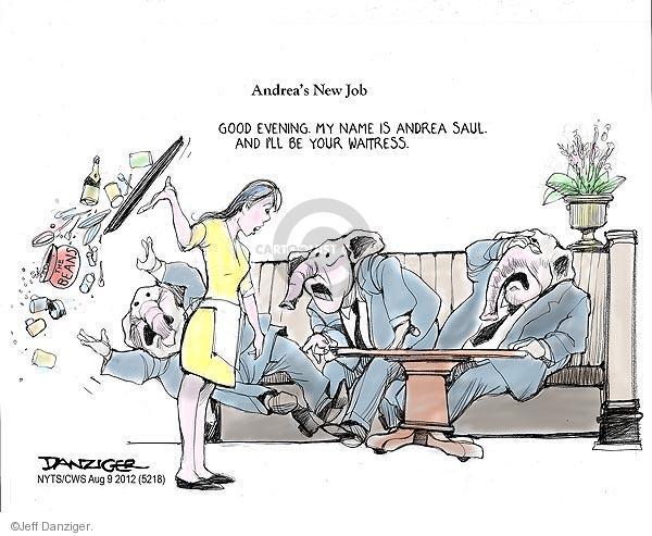 Jeff Danziger  Jeff Danziger's Editorial Cartoons 2012-08-09 Andrea