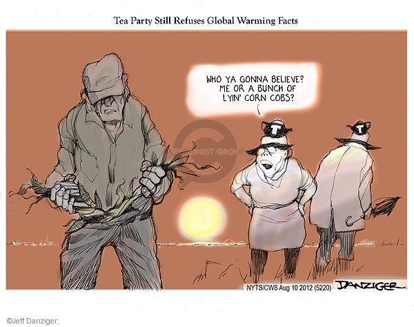 Cartoonist Jeff Danziger  Jeff Danziger's Editorial Cartoons 2012-08-10 global warming