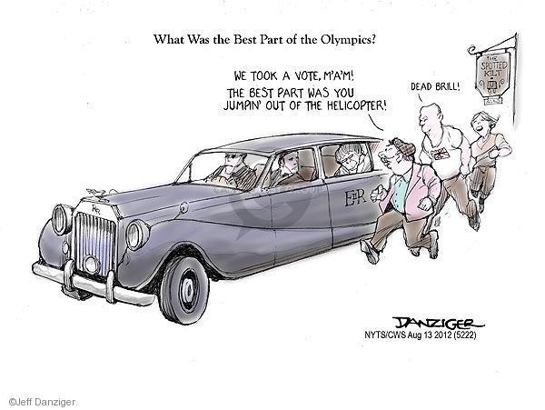 Jeff Danziger  Jeff Danziger's Editorial Cartoons 2012-08-13 2012 Olympics