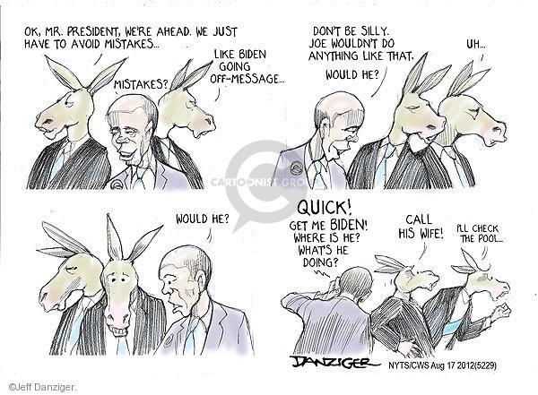 Jeff Danziger  Jeff Danziger's Editorial Cartoons 2012-08-17 Joe Biden