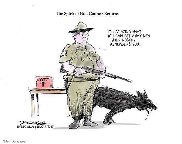 Jeff Danziger  Jeff Danziger's Editorial Cartoons 2012-08-19 voter fraud