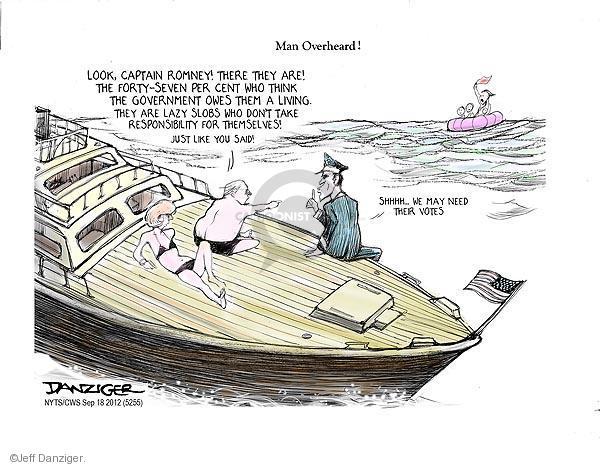 Jeff Danziger  Jeff Danziger's Editorial Cartoons 2012-09-18 captain