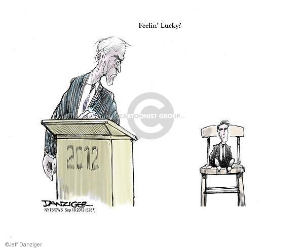 Cartoonist Jeff Danziger  Jeff Danziger's Editorial Cartoons 2012-09-18 small