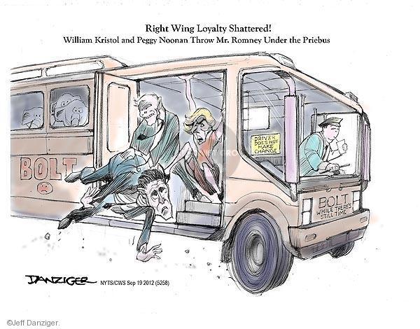 Cartoonist Jeff Danziger  Jeff Danziger's Editorial Cartoons 2012-09-19 conservative media