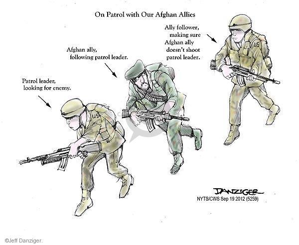 Jeff Danziger  Jeff Danziger's Editorial Cartoons 2012-09-19 Afghan