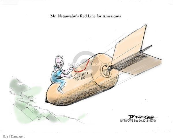 Cartoonist Jeff Danziger  Jeff Danziger's Editorial Cartoons 2012-09-30 bomb