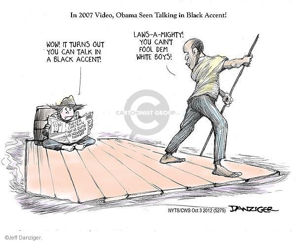 Cartoonist Jeff Danziger  Jeff Danziger's Editorial Cartoons 2012-10-03 2008 election