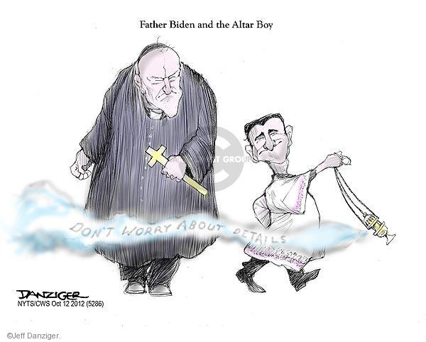 Jeff Danziger  Jeff Danziger's Editorial Cartoons 2012-10-12 Joe Biden