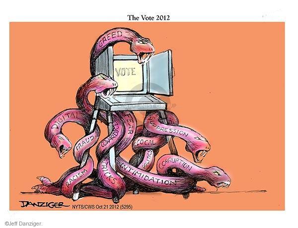 Jeff Danziger  Jeff Danziger's Editorial Cartoons 2012-10-21 racism