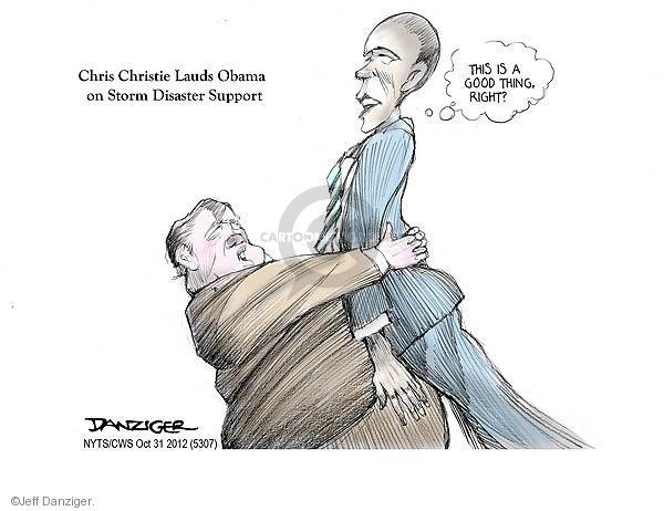 Cartoonist Jeff Danziger  Jeff Danziger's Editorial Cartoons 2012-10-31 support