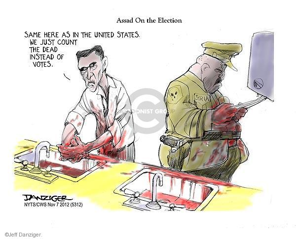 Jeff Danziger  Jeff Danziger's Editorial Cartoons 2012-11-07 2012