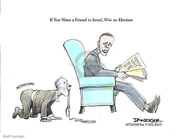 Cartoonist Jeff Danziger  Jeff Danziger's Editorial Cartoons 2012-11-11 2012 election