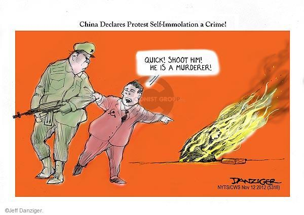 Jeff Danziger  Jeff Danziger's Editorial Cartoons 2012-11-12 chinese