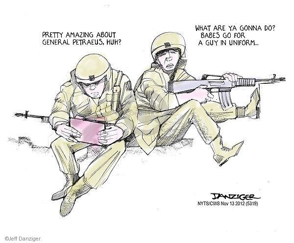 Cartoonist Jeff Danziger  Jeff Danziger's Editorial Cartoons 2012-11-13 do