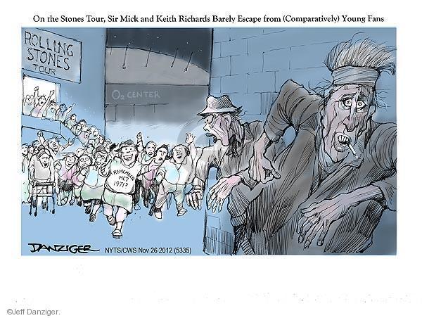 Jeff Danziger  Jeff Danziger's Editorial Cartoons 2012-11-26 1970s