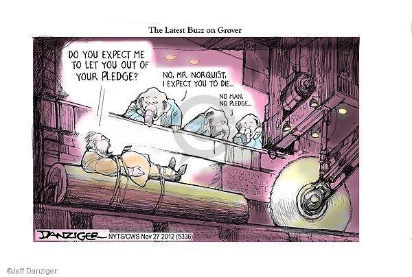 Cartoonist Jeff Danziger  Jeff Danziger's Editorial Cartoons 2012-11-27 group