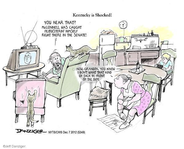 Cartoonist Jeff Danziger  Jeff Danziger's Editorial Cartoons 2012-12-07 don't