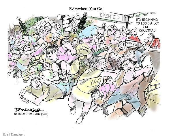 Jeff Danziger  Jeff Danziger's Editorial Cartoons 2012-12-09 shop