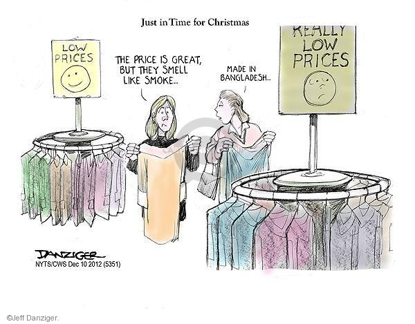 Jeff Danziger  Jeff Danziger's Editorial Cartoons 2012-12-10 shop