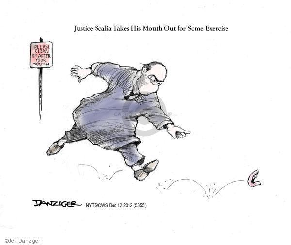Cartoonist Jeff Danziger  Jeff Danziger's Editorial Cartoons 2012-12-12 legal