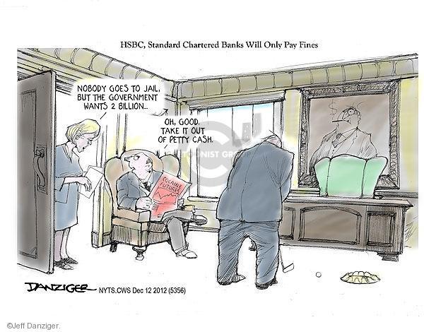 Jeff Danziger  Jeff Danziger's Editorial Cartoons 2012-12-12 good