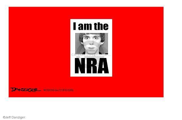 Jeff Danziger  Jeff Danziger's Editorial Cartoons 2012-12-19 assault weapon