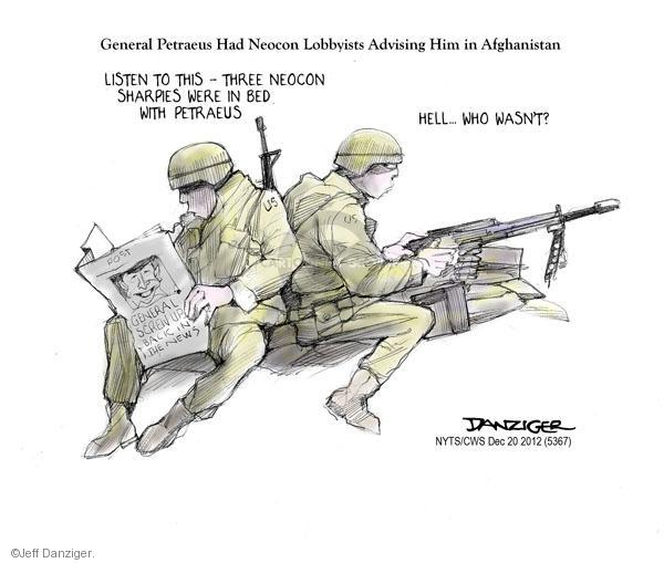 Cartoonist Jeff Danziger  Jeff Danziger's Editorial Cartoons 2012-12-20 CIA