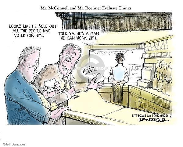 Cartoonist Jeff Danziger  Jeff Danziger's Editorial Cartoons 2013-01-01 2012