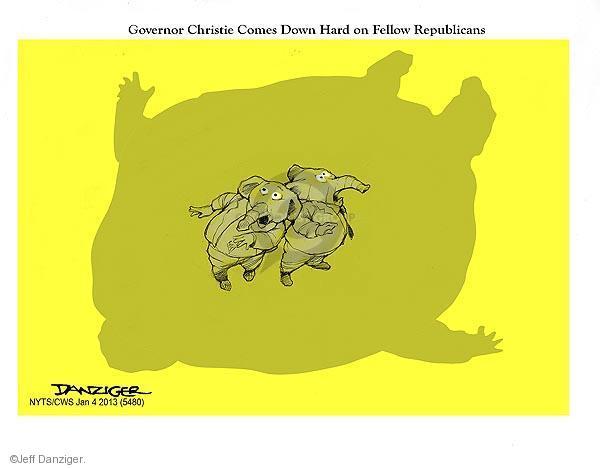 Cartoonist Jeff Danziger  Jeff Danziger's Editorial Cartoons 2013-01-04 hard