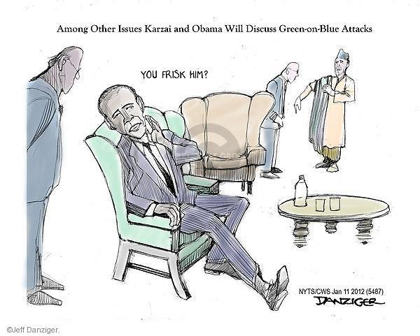 Jeff Danziger  Jeff Danziger's Editorial Cartoons 2013-01-11 Afghan