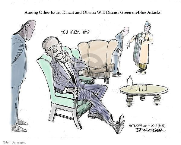 Cartoonist Jeff Danziger  Jeff Danziger's Editorial Cartoons 2013-01-11 insider