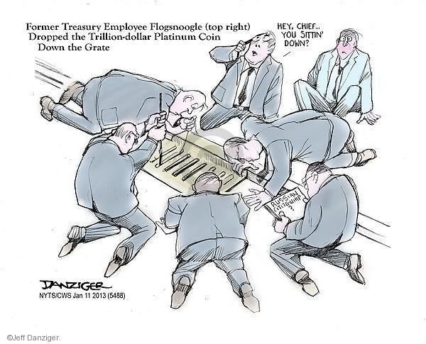Jeff Danziger  Jeff Danziger's Editorial Cartoons 2013-01-11 employee
